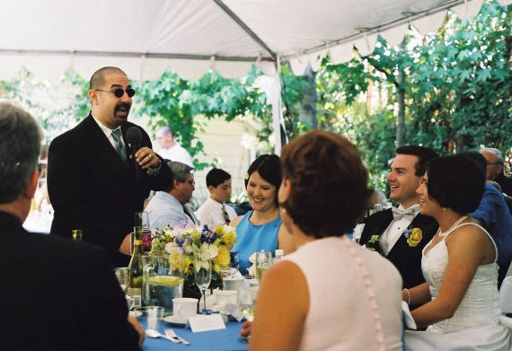 How to Give the Perfect Best Man's Wedding Speech