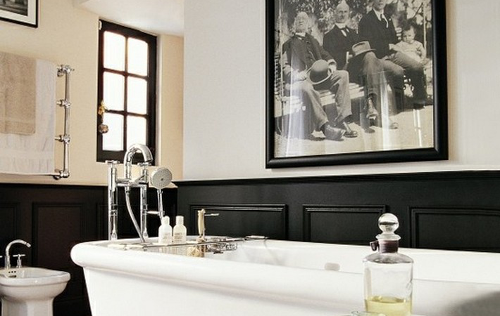 How to Design a Manly Bathroom