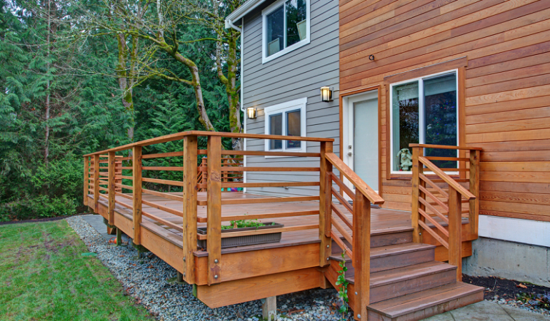Is Timber Decking Fireproof or Fire Safe?